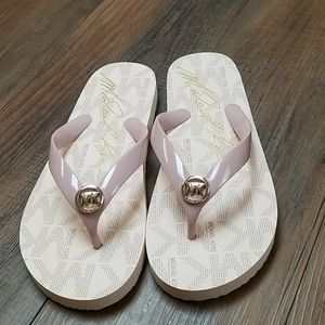 MICHAEL Michael Kors MK Logo Slide Sandals